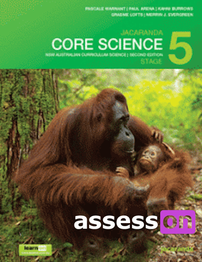 jacaranda core science stage 5 nsw australian curriculum print  u0026 learnon  2nd edition   assesson